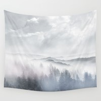 Magic in the Clouds V Wall Tapestry by Viviana Gonzalez