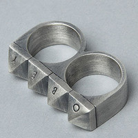 Obey The 25hr Ring in Antique Silver : Karmaloop.com - Global Concrete Culture