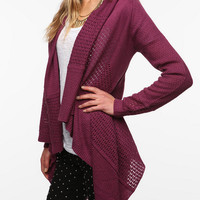 Urban Outfitters - byCORPUS Mix Stitch Open Cardigan