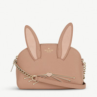 KATE SPADE NEW YORK Rabbit Hilli Saffiano leather cross-body bag