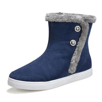 On Sale Hot Deal Thicken Winter Fashion Cotton Couple Boots [79791947801]