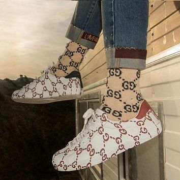 Gucci New Popular Women Casual Comfortable Flat Sports Shoes Sneakers I/A