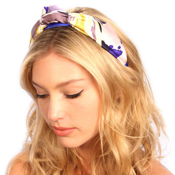 Royal Silk Knot Headband
