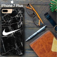 Nike Black Marble Z5384 iPhone 7 Plus Case