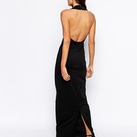 AQ AQ Tyga Halterneck Maxi Dress
