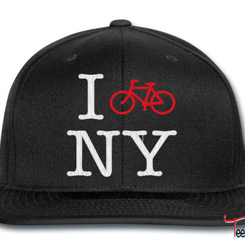 i bike in new york snapback