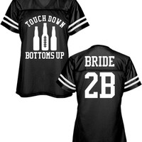 Football Bachelorette Top: Mom Means Business