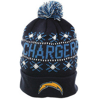 Twins Tip Off San Diego Chargers Knit Beanie