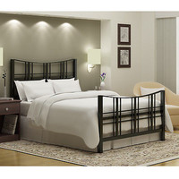 Queen-size Bed Headboard Footboard Side Slats Home Furniture Rails New Free
