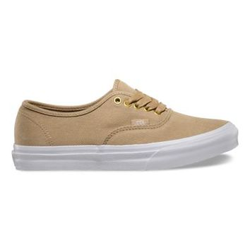 Vans Gold Pop Authentic Slim (twill/khaki)