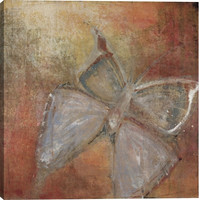 Butterfly Animal Canvas Wall Art Print by Maeve Harris