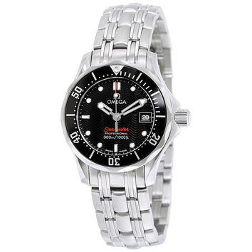 Omega James Bond Seamaster 300M Quartz Ladies Watch 212.30.28.61.01.001