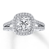 Vera Wang LOVE 2 Carat tw Diamonds 14K White Gold Ring
