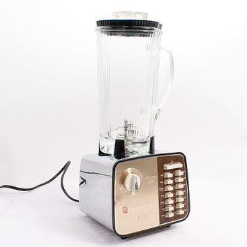 Mid-Century Chrome Blender - Waring Custom Solid State 150, Mad Men, Kitchen, Mid-Century Modern