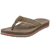 Patagonia Women's Fly Away Leather Sandals Flip Flops Llama Brown Size 5 New