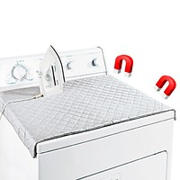 "Evelots Magnetic Quilted Laundry  Ironing Pad, 33"" x 18.5"" - Use On Washer/Dryer"