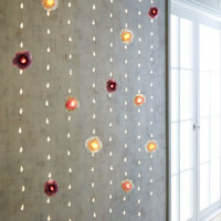Floral Crystal Curtain 10' LED Glimmer Strings®