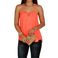 Promo-eye Catcher Eyelet Tank