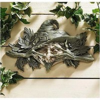 The Poison Ivy Forest Witch Wall Sculpture - CL5312 - Design Toscano