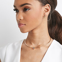 Etched Feather Earcuff Threader
