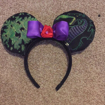 Maleficent Inspired Glow in the Dark Ears