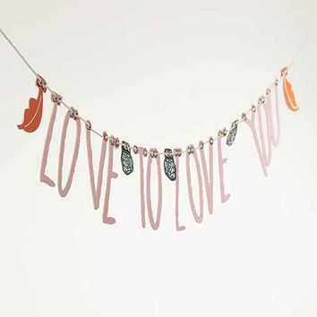 Love To Love Banner