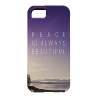 Leah Flores Whitman Peace Cell Phone Case