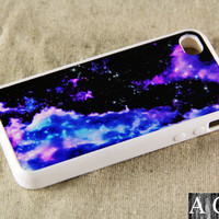 Galaxy iPhone 4 iPhone 4S Case, Rubber Material Full Protection