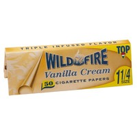 Top Wildfire - Vanilla Cream Regular Size Rolling Papers - Single Pack