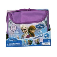 Disney's Frozen 3-pk. Carry & Go Puzzle Pack by Cardinal