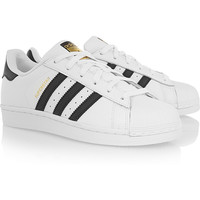 adidas Originals | Superstar Foundation leather sneakers | NET-A-PORTER.COM