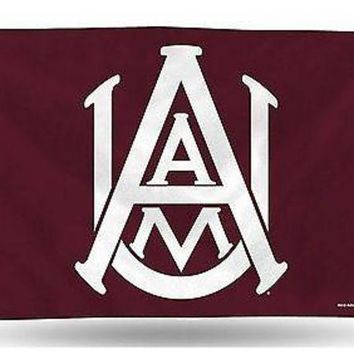 ONETOW Alabama A&M Bulldogs Rico 3x5 Flag w/grommets Outdoor Banner MLB University
