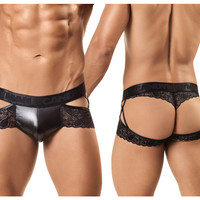 CandyMan Double Up Lace Jockstrap