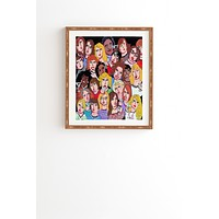Renie Britenbucher Girls Night Out Happy Hour Framed Wall Art
