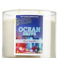 14.5 oz. 3-Wick Candle Ocean Drive