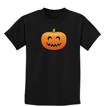 Jack-o-lantern Childrens Dark T-Shirt
