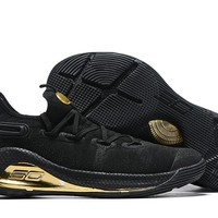 Under Armour Curry 6 - Black/Gold