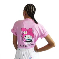 ME x MY MELODY CALL M.E. TEE - Pink