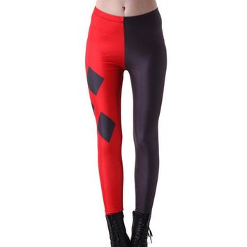 Harley Quinn Diamonds Leggings