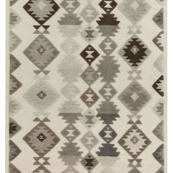 Tallo Transitional Area Rug Gray