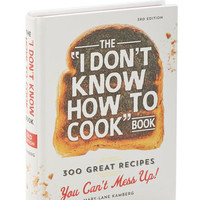 ModCloth Quirky The I Don't Know How to Cook Book