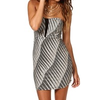 Textured Illusion Body Con