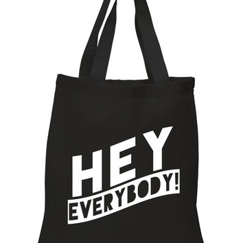 "5 Seconds of Summer 5SOS ""Hey Everybody"" 100% Cotton Tote Bag"