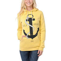 Glamour Kills Drop & Anchor Yellow Pullover Hoodie at Zumiez : PDP
