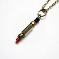 Doctor Who: Professor River Song's red by vintagehomage on Zibbet