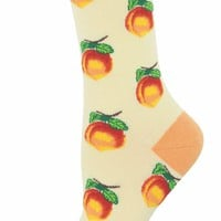 Georgia Peach Women's Crew Socks