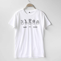 Plants are Friends Shirt TShirt T-Shirt T Shirt Tee