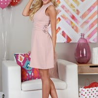 Together Forever Dress - Blush