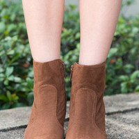 Tempting Trails Booties, Brown