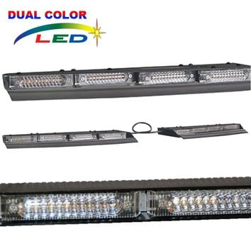 SVP Lineum X Dual Color Phantom Split Interior Lightbar